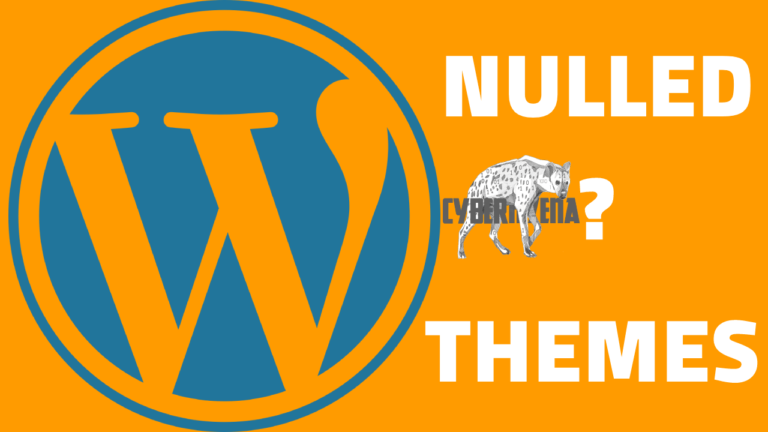 nulled wordpress themes are they safe Why You Must Avoid