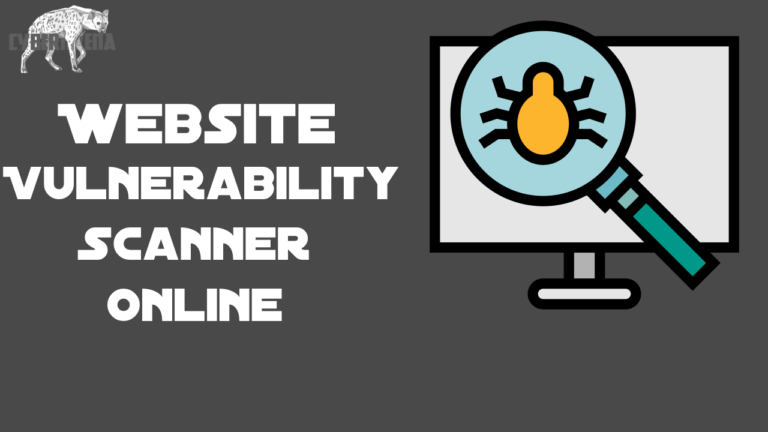 Website Vulnerability Scanner online for website exploits