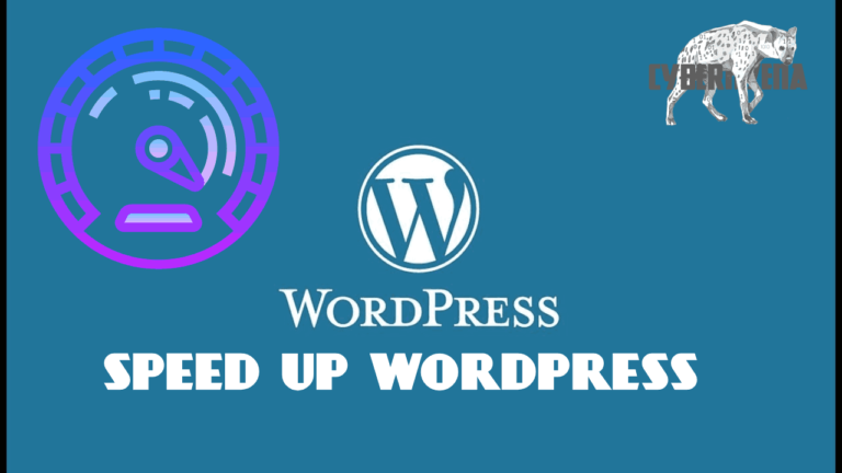 speed up WordPress make WordPress site faster